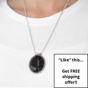 Paparazzi - Black - Necklace & Earring Set - #228